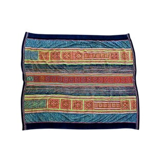 Handwoven Vietnamese Quilt Cover For Sale