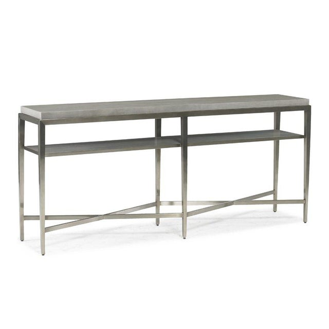 Kenneth Ludwig Chicago Contemporary Lund Console Table from Kenneth Ludwig Chicago For Sale - Image 4 of 4