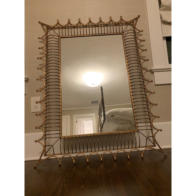 Bunny Williams Gold Rex Wall Mirror For Sale In Orlando - Image 6 of 6