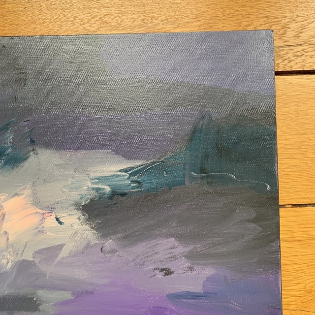 Original Abstract Painting on Canvas For Sale - Image 4 of 6