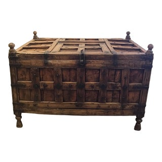 Antique Indonesian Dowry Chest For Sale