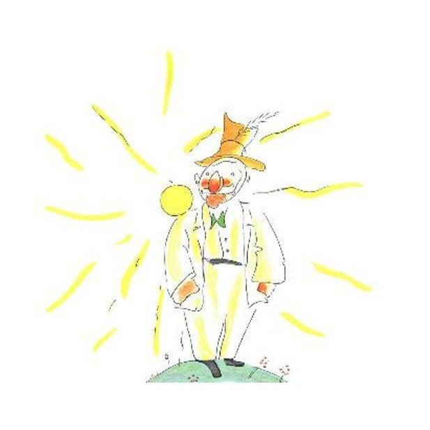 """1960s Lithographic Print by Antoine De Saint Exupery """"The Conceited Man"""" From the Little Prince For Sale - Image 5 of 5"""