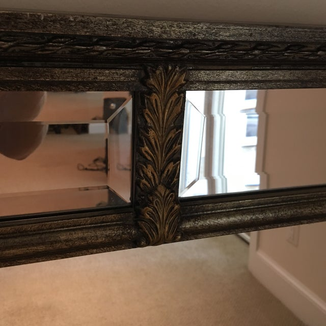 Silver & Gold Mirror For Sale In Washington DC - Image 6 of 11