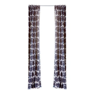 """Pepper Warby 50"""" x 96"""" Curtains - 2 Panels For Sale"""