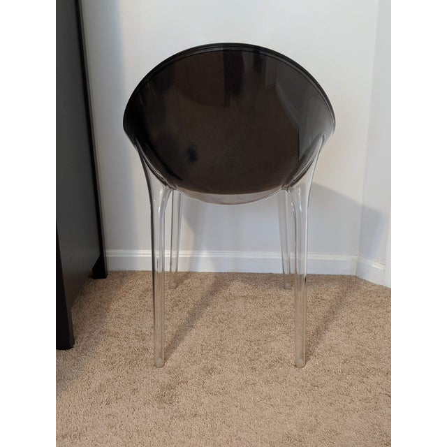 Black Philippe Stark for Kartell Mr Impossible Chairs - Set of 4 For Sale - Image 8 of 10