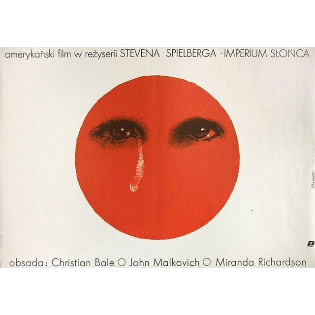 Spielberg's Empire of the Sun 1987 Original Polish Movie Poster - Image 1 of 2