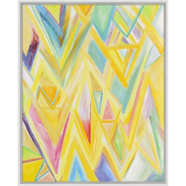 """Abstract Framed """"Peaks 4"""" Print For Sale - Image 3 of 4"""