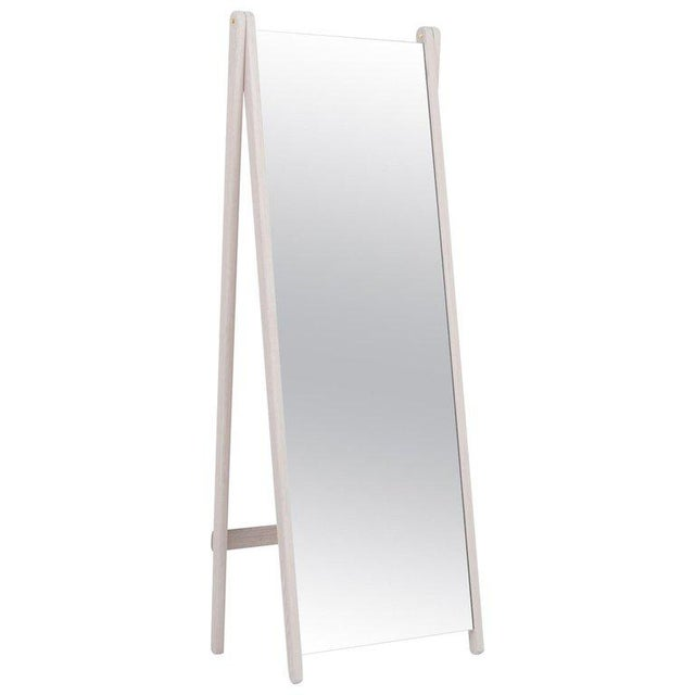White Asa Pingree Libertine Full Length Mirror in Fog Gray Ash For Sale - Image 8 of 8
