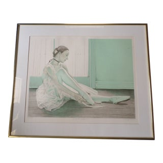 "Louis Russomanno Original Limited Edition Signed Print ""La Belle Epoque"" For Sale"