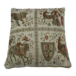 20th Century Renaissance Style Support Pillow For Sale