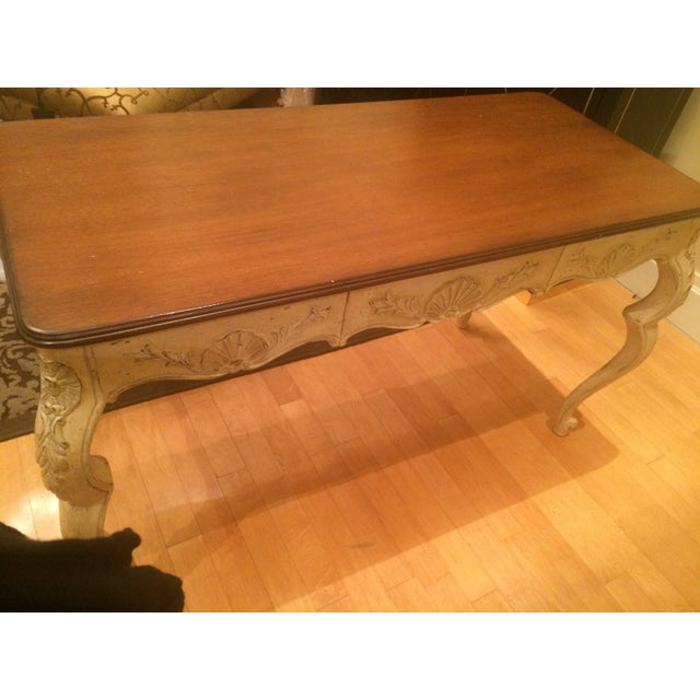 Vintage French Style Writing Desk - Image 8 of 8