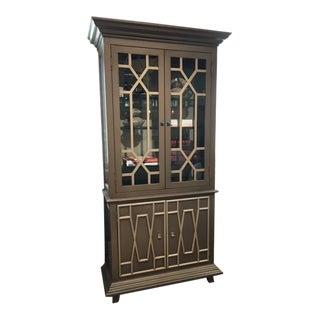 Hollywood Regency Old Biscayne Design Calla Cabinet For Sale