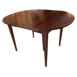 Directoire Style Extension Mahogany Dining Table For Sale