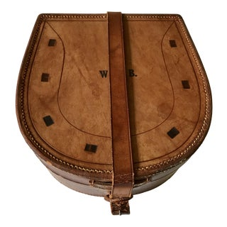 1950s Traditional Leather Box For Sale