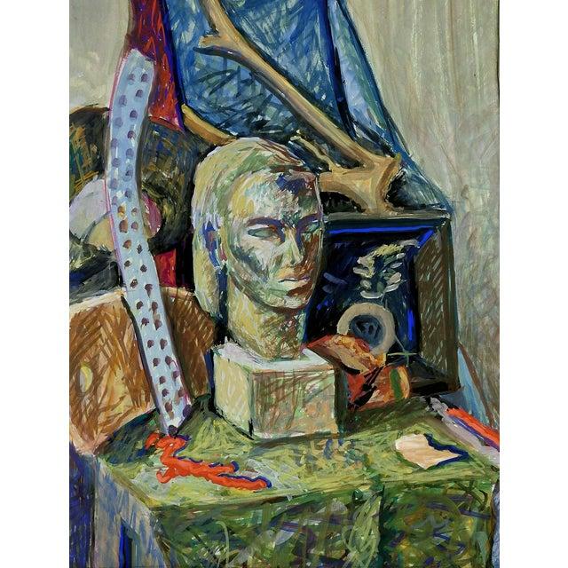 Modernist Still Life by Geneva Hart For Sale