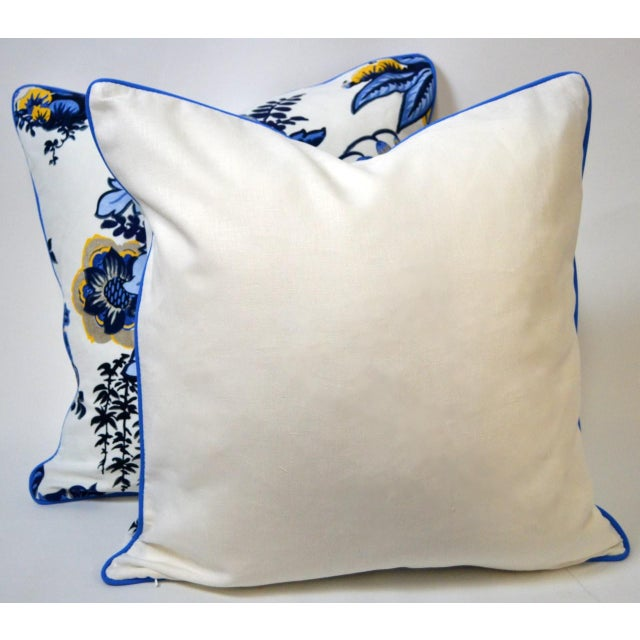 Anna French Fairbanks Fabric Pillows - a Pair For Sale - Image 4 of 5