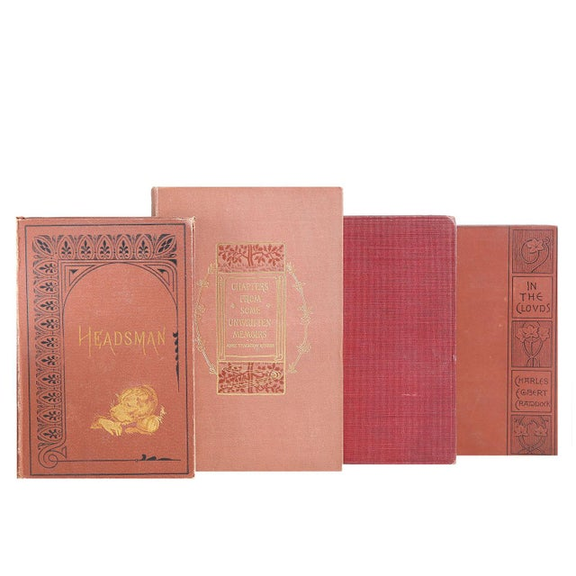 Brown & Burgundy Victorian Books - Set of 15 - Image 2 of 2