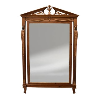 Early 20th Century Neoclassical Style Mirror For Sale