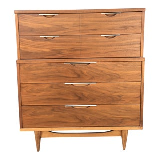 "Mid Century Modern ""The Tableau"" Highboy by Kent Coffey For Sale"
