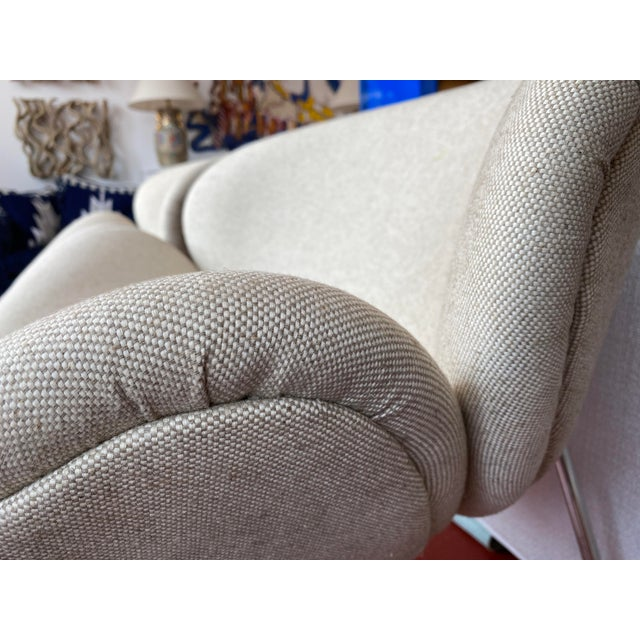 Pair of Vintage Tulips Chairs With Newly Upholstered For Sale - Image 10 of 13