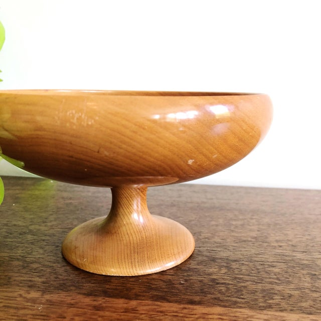Mid-Century Modern Mid-Century Myrtlewood Bowl For Sale - Image 3 of 6