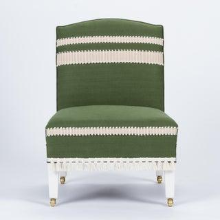Casa Cosima Sintra Chair in Verdure Linen, a Pair Preview