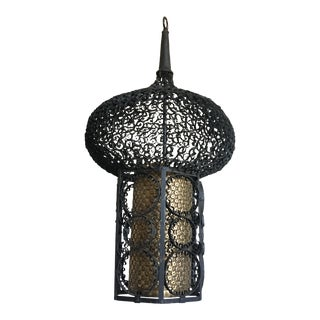 French Moroccan Pendant Light For Sale