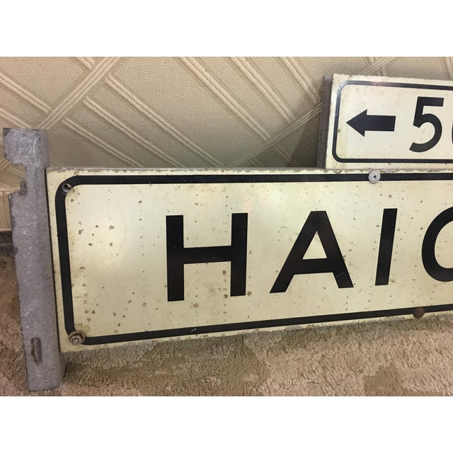 1970s Haight Street 500 Block Metal Sign - Image 6 of 6
