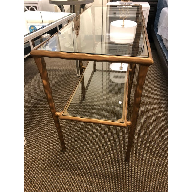 Jamie Young Jamie Young Shelved Console Table For Sale - Image 4 of 5