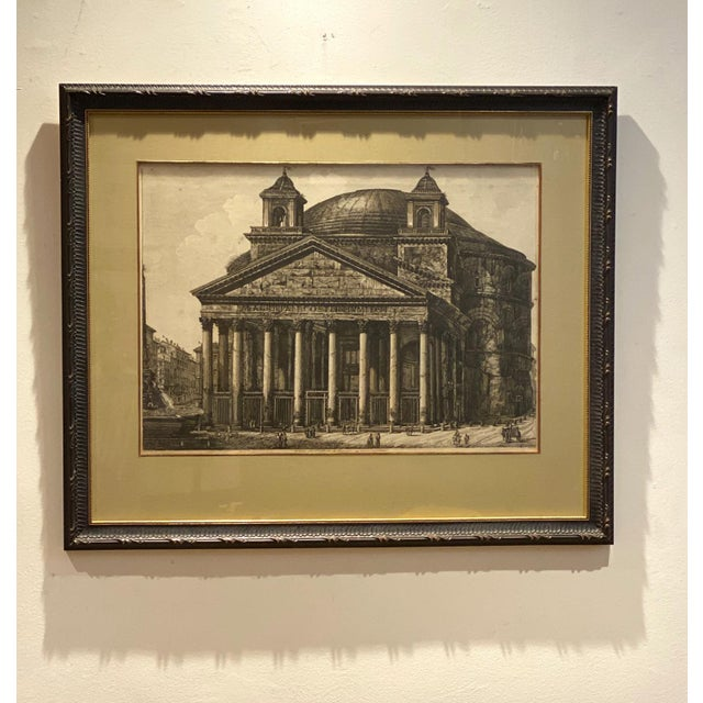 Piranesi Etching of the Pantheon, Circa 18th Century For Sale In San Francisco - Image 6 of 6