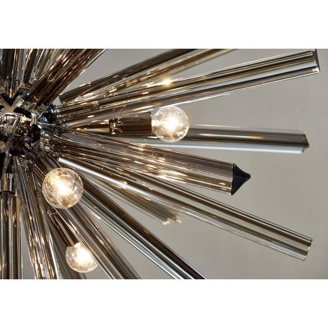 Mid-Century Modern Customizable Italian Murano Glass Sputnik Chandelier For Sale - Image 3 of 9