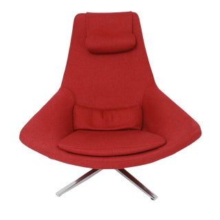 B&b Italia Metropolitan Swivel Chair by Jeffrey Bernett For Sale