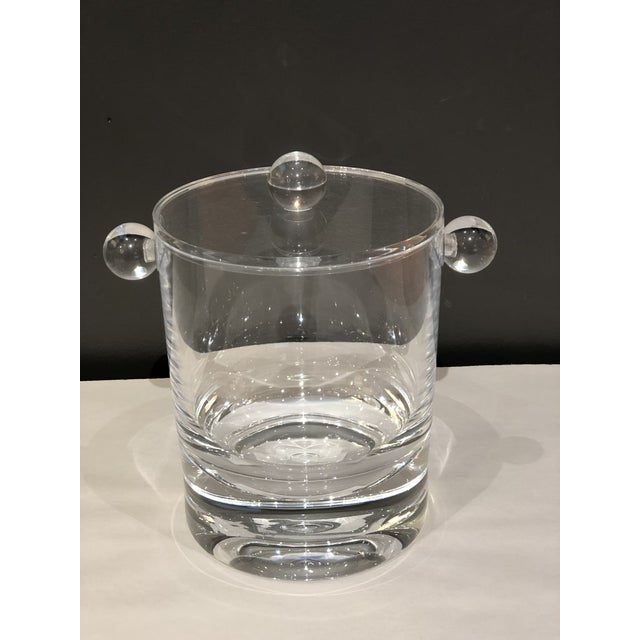 Transparent Modern Acrylic Ice Bucket For Sale - Image 8 of 8