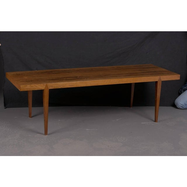 Mid-Century Modern Midcentury Danish Rosewood Coffee Table by Severin Hansen, 1960 For Sale - Image 3 of 3