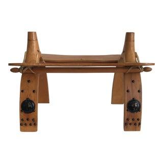 Stool - Vintage Camel Stool