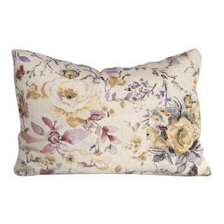 Kim Salmela Floral Pillow For Sale
