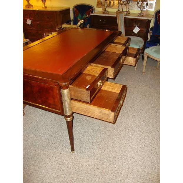 Maison Jansen Louis XVI Style Leather Top Desk - Image 7 of 8