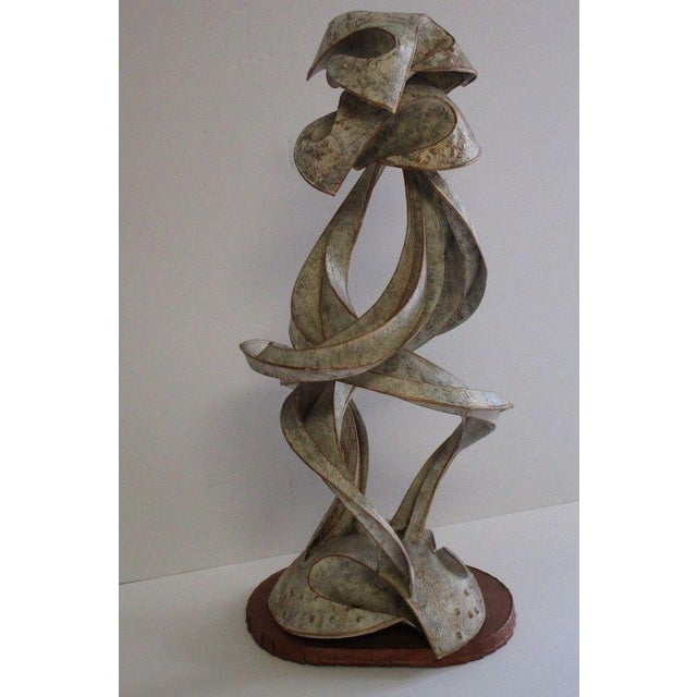 Expressionist Abstract Metal Sculpture For Sale - Image 12 of 13