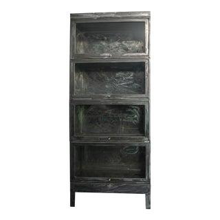 Modern Metal Barrister Cabinet