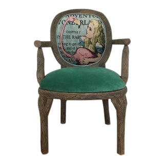 Alice's Wonderland Woodland Chair For Sale