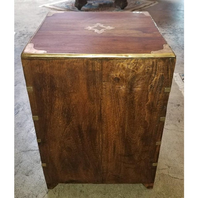 Campaign Style Mini Chest For Sale - Image 4 of 13