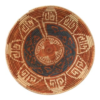 19th Century Native American Woven Basket For Sale