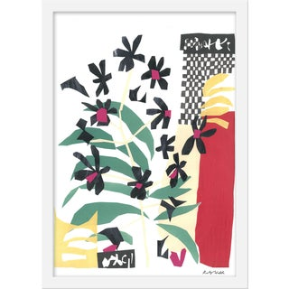 """Medium """"Still Life With Orchid"""" Print by Katy Welsh, 15"""" X 21"""" For Sale"""