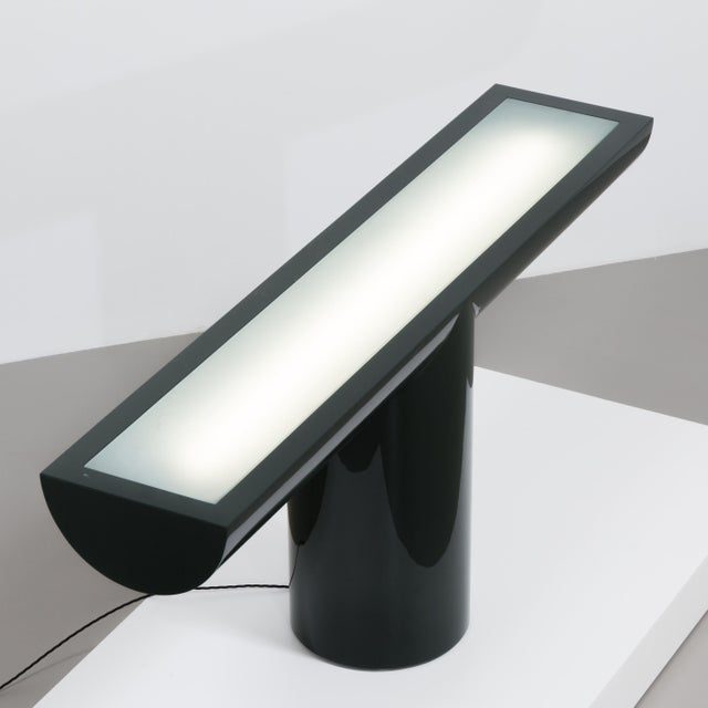 A Lacquered Cantilevered Console Lightbox 1970s - Image 5 of 10