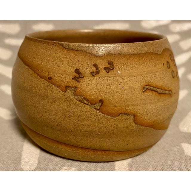 American Vintage Hand Crafted Novelty Studio Pottery Miniature Pot For Sale - Image 3 of 8