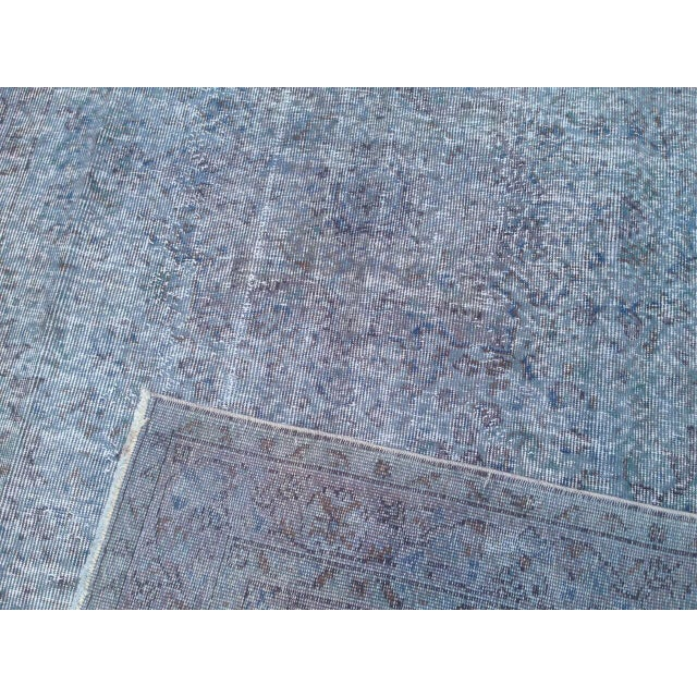 "Turkish Overdyed Patchwork Rug - 5' x 9'1"" For Sale - Image 4 of 6"