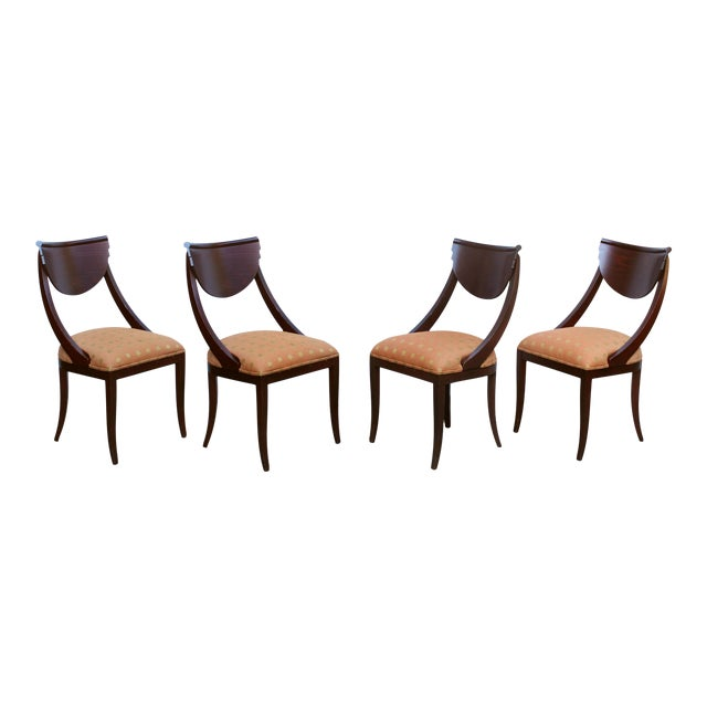 1980's Pietro Costantini for Ello Furniture Post Modern Italian Dining Chairs - Set of 4 For Sale