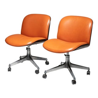 Set of Two Office Chairs by Mim For Sale