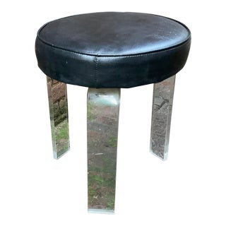 1970s Vintage Lucite Stool For Sale