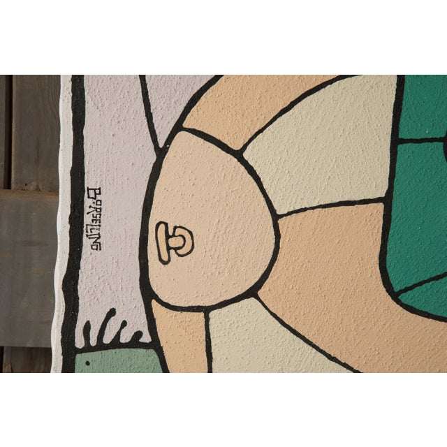Borsellino Outsider Art Paintings - a Pair For Sale In Philadelphia - Image 6 of 13